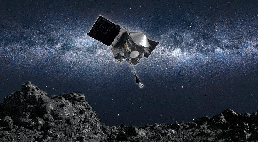 O sondă NASA a aterizat cu succes pe asteroidul Bennu