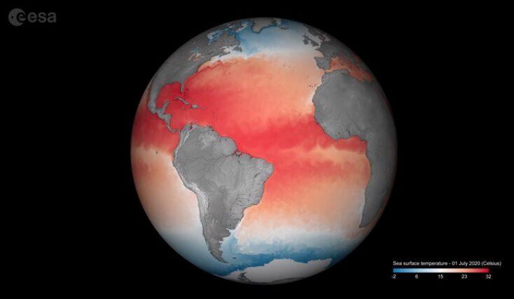 Nivelul mării nu crește uniform peste tot