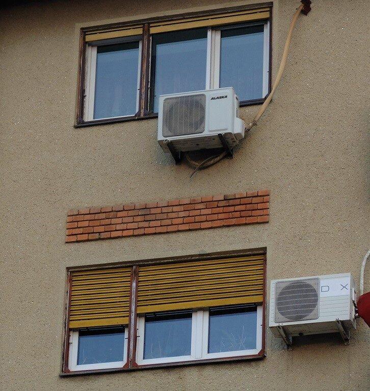 """ARAD: demontarea """"benevolă"""" a aparatelor de aer condiționat sub amenințarea amenzilor, apreciată de city-manager"""