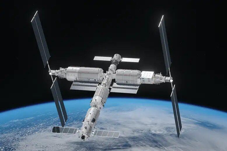 China construiește o nouă stație spațială în orbita Pământului