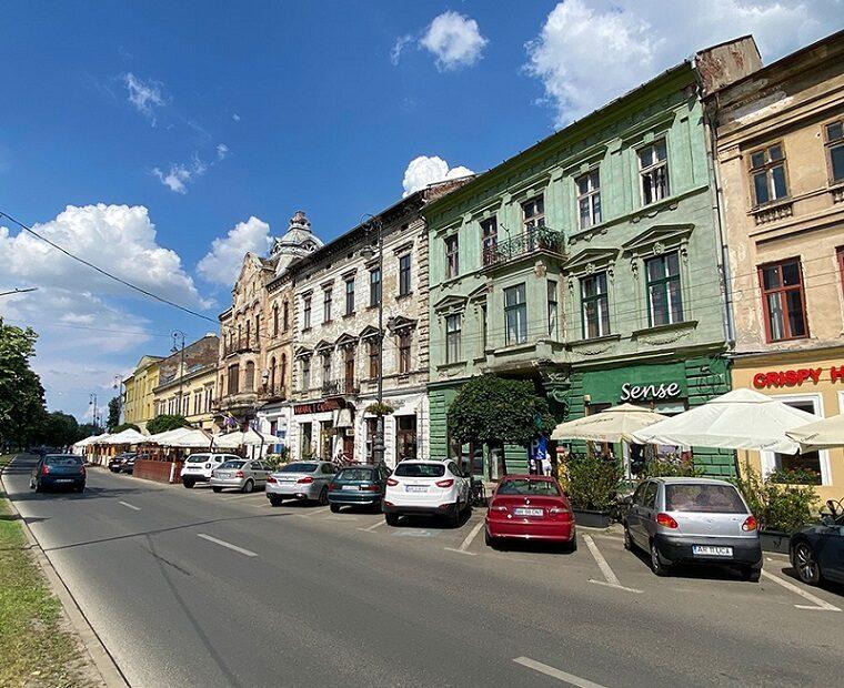 Proiect pentru zonă pietonală în Arad